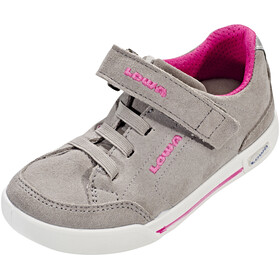 Lowa Lisboa Low Shoes Junior light grey/fuchsia